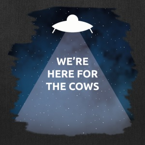 We're Here for the Cows - Tote Bag