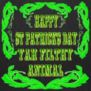 Happy St Patrick's Day Yah Animal - Tote Bag