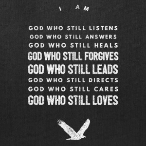 Cute and Cool Christian Apparel - I Am God - Tote Bag