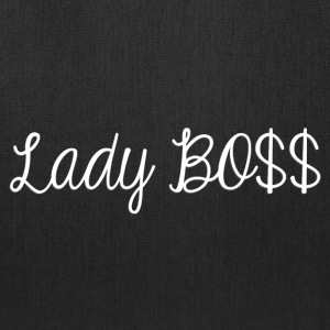 Lady Boss white - Tote Bag