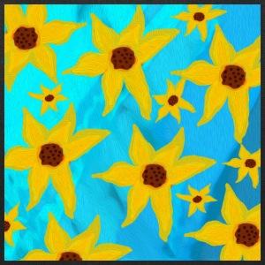 Funky Sunflowers - Tote Bag