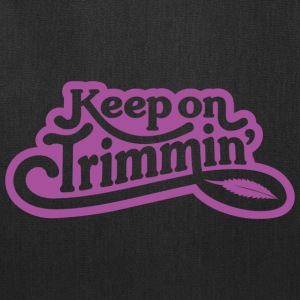keepontrimmin_Purple - Tote Bag