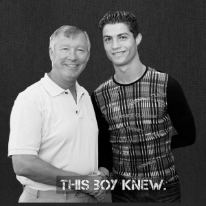 CR7 - This Boy Knew. - Tote Bag