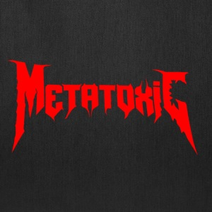 METATOXIC Text Logo - Tote Bag