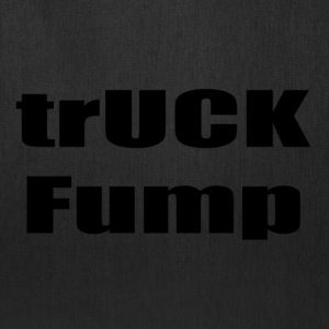 trUCK Fump (black text) - Tote Bag
