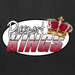Passportkings white shirt design - Tote Bag