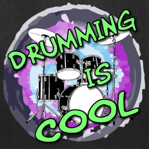 Drumming is cool / Drums - Tote Bag
