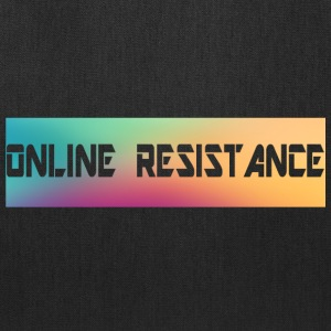 Online Resistance T-Shirts Long Logo - Tote Bag