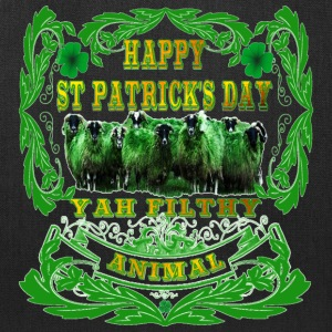 Happy St Patrick's Day Yah-Filthy-Animal - Tote Bag