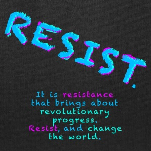 Resist with Subtext - Tote Bag