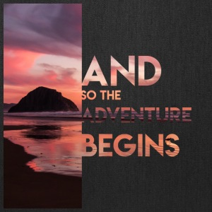 Adventure Begins - Tote Bag