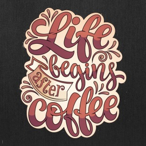 Life Begins After Coffee Mug - Tote Bag
