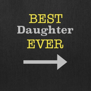 Best Daughter Ever Arrow - Tote Bag