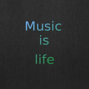Music_is_life - Tote Bag