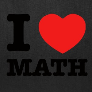 I love Math - Tote Bag