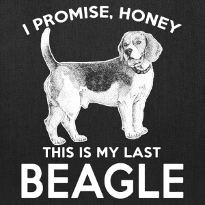 This Is My Last Beagle Shirt - Tote Bag