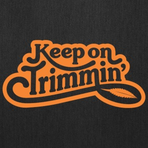 keepontrimmin_orange - Tote Bag