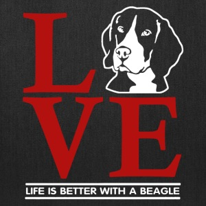 Love Beagle Shirt - Tote Bag