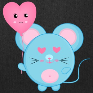 Mouse with Heart - Tote Bag