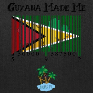 guyana made me black tex Recovered - Tote Bag