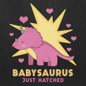 Babysaurus Girl - Tote Bag