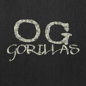 OG Gorillas Logo Designed by OG Gorillas Clothing - Tote Bag
