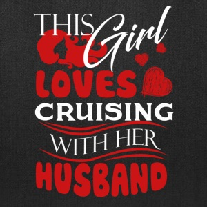 Love Cruising With Her Husband Shirt - Tote Bag