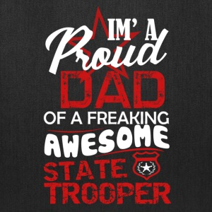 State Trooper Dad Shirt - Tote Bag