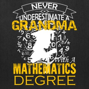 Mathematics Grandma Shirt - Tote Bag