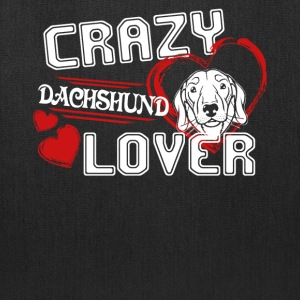 Dachshund Lover Shirt - Tote Bag