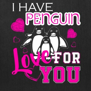 Love Penguin Shirt - Tote Bag