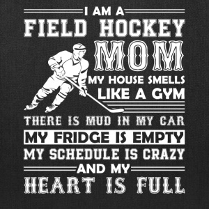 Field Hockey Mom Shirt - Tote Bag
