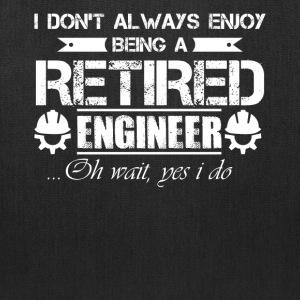 Retired Engineer Shirt - Tote Bag