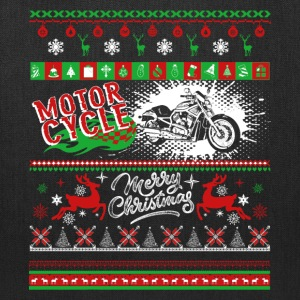 Motorcycle Shirt - Motorcycle Christmas Shirt - Tote Bag