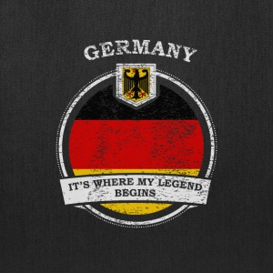 Germany It's Where My Legend Begins - Tote Bag