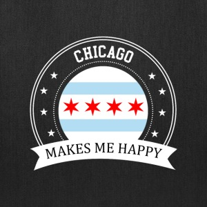 Chicago Makes Me Happy - Tote Bag
