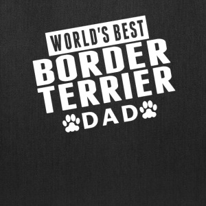 World's Best Border Terrier Dad - Tote Bag