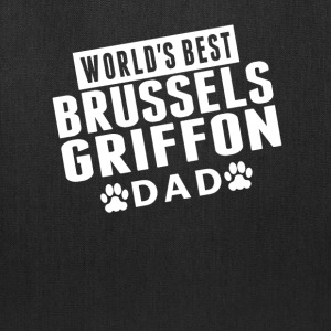 World's Best Brussels Griffon Dad - Tote Bag