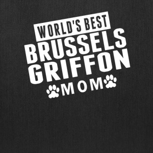 World's Best Brussels Griffon Mom - Tote Bag