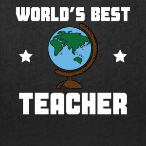 World's Best Teacher - Tote Bag