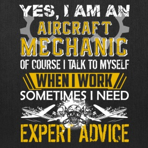 Aircraft Mechanic Shirt - Tote Bag