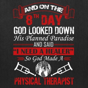 God Made Physical Therapist Shirt - Tote Bag