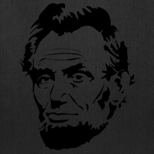Face Of President Abraham Lincoln - Tote Bag