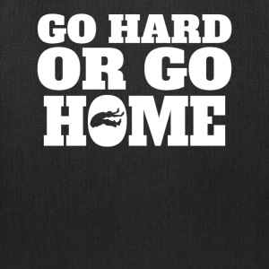 Go Hard Or Go Home Long Jump - Tote Bag