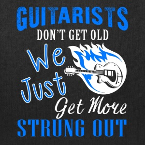 Guitarists Don't Get Old Shirt - Tote Bag