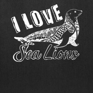 Love Sea Lions Shirt - Tote Bag