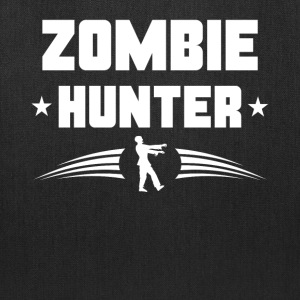 Zombie Hunter Zombie Silhouette - Tote Bag