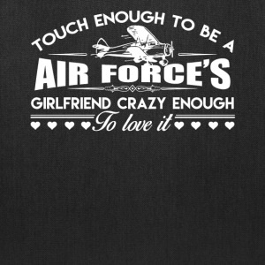 Air Force Girlfriend Shirt - Tote Bag