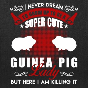 Super Cute Guinea Pig Shirt - Tote Bag