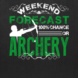 Weekend Forecast Archery Shirt - Tote Bag